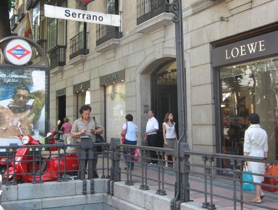Calle Serrano, Madrid