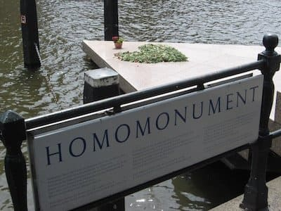 Gay monument