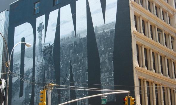 DKNY mural, New York