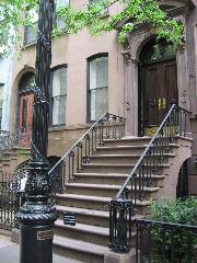 Carrie Bradshaw's building in Sex and the City, New York