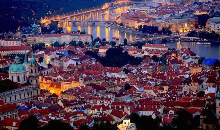 Praga romântica